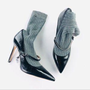 Zara sock heel